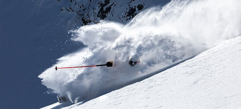 Freeride in Livigno