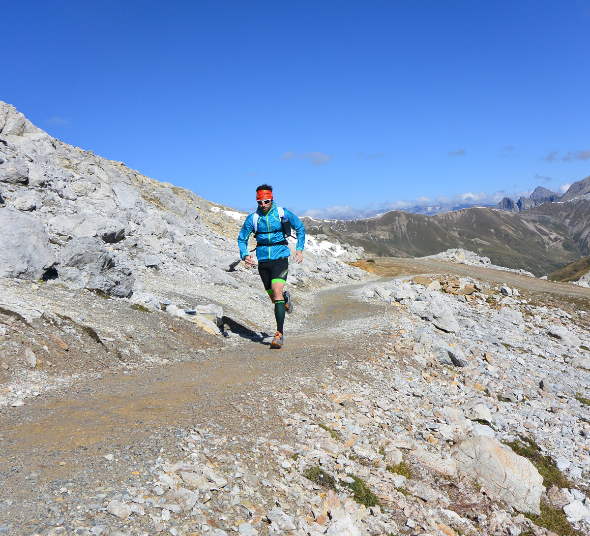 Seniero trail running Fartlek dell nuvole