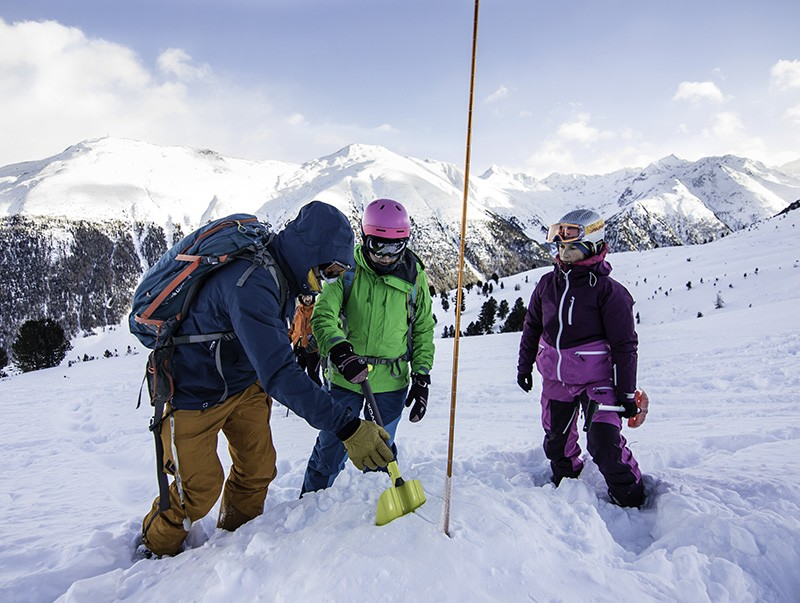 Freeride safety camp