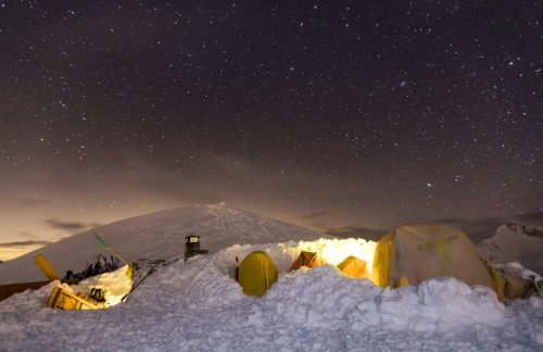 A night in a tent at Madonon